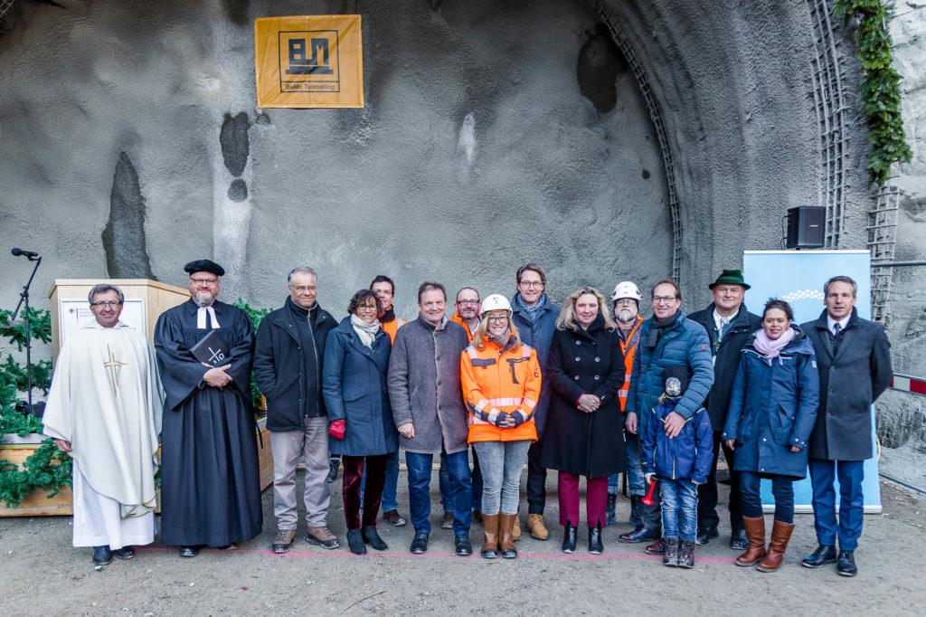 Tunnelanschlagsfeier – Es geht los!