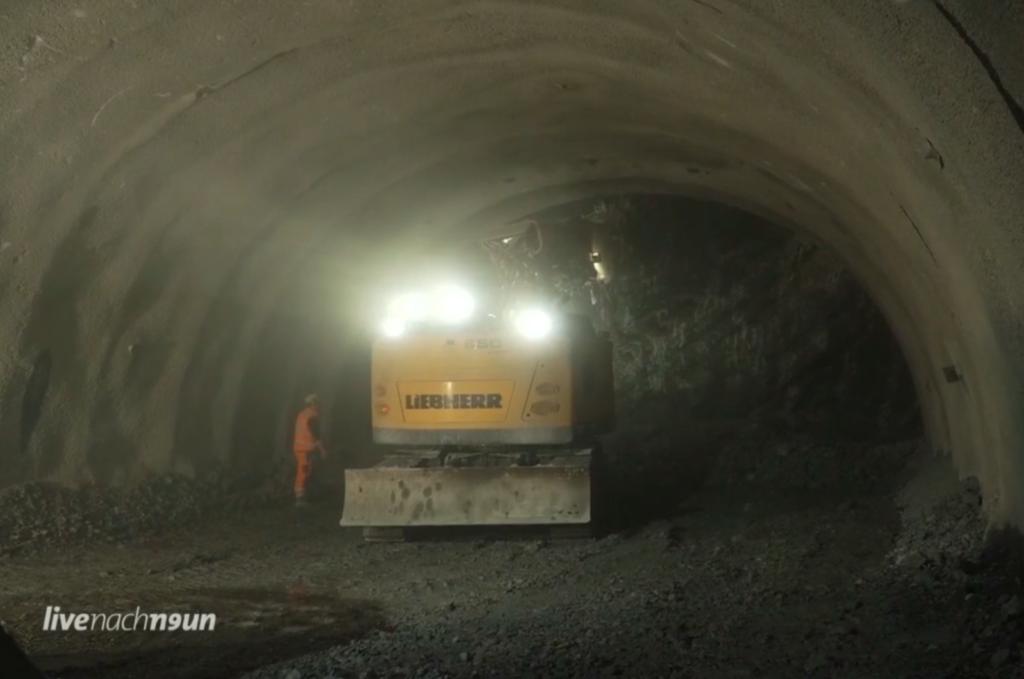 Faszinierende Einblicke in die Tunnelarbeiten für die B 23 Ortsumgehung Garmisch-Partenkirchen